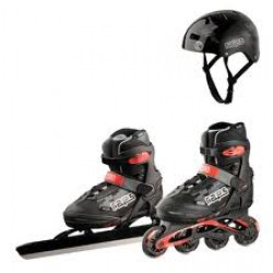 Raps Blackbird V4 junior inclusief Helm en skeelers
